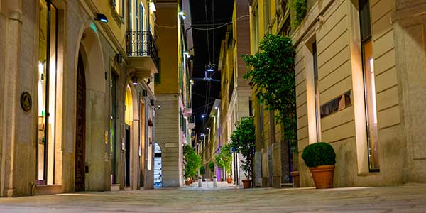 Tour quadrilatero della moda Milano